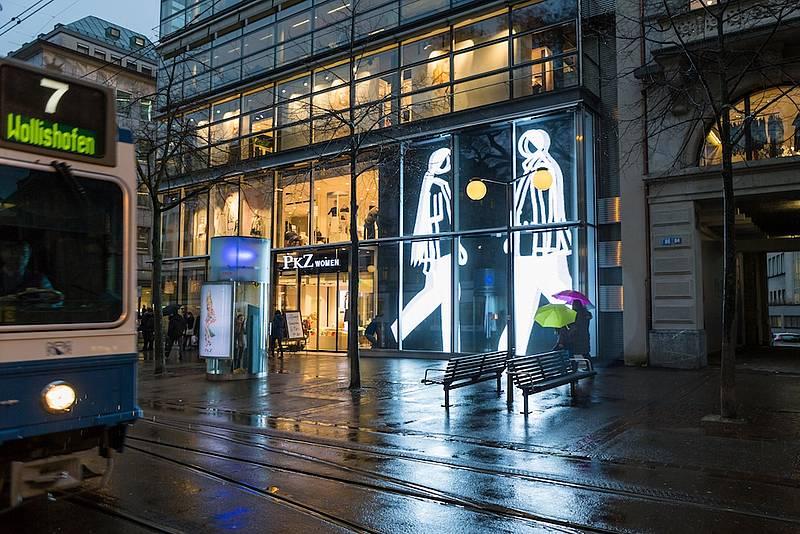 Tages Anzeiger – Neue Kunst bringt sehr viel Licht ins Dunkel