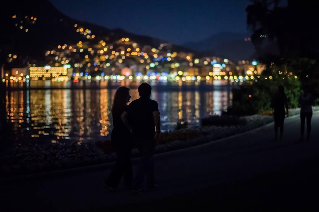 RSI:  Lugano si illumina di meno