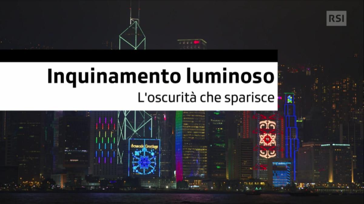 La2DOC: Inquinamento luminoso, l'oscurità che sparisce