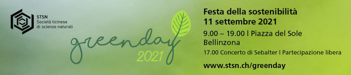 Festa della Sostenibilità – 11 settembre 2021 a Bellinzona